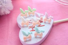 Pastel Bunny Ear Earrings Pick A Pair on Etsy, $6.26 CAD
