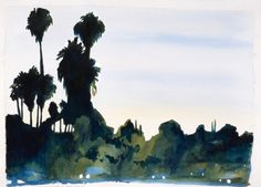 This is a large painting. Another shot taken from the freeway, this one the 101 at around Barham Blvd. This is one of my favorites.