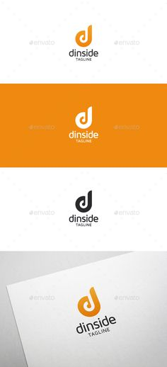Dinside D Letter - Logo Design Template Vector #logotype Download it here: http://graphicriver.net/item/dinside-d-letter-logo/5635008?s_rank=49?ref=nexion