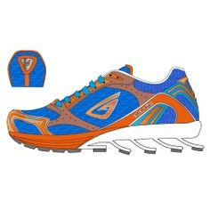 Awesome Blue Running Shoes