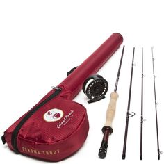 Leland Rod Co. Sonoma Starter Trout Fly Fishing Combo