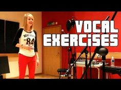 Singing Lessons - Vocal Warm Up Exercises (PART 2 of Developing your Falsetto and Full Voice Vocal Lessons, Singing Lessons, Singing Tips, Music Lessons, Vocal Warm Up Exercises, Singing Exercises, Do Re Mi, Voice Warm Ups, Vocal Warmups