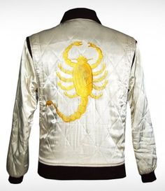 $129.00 - Ryan Gosling Drive Scorpion Jacket - I need this, do you understand?