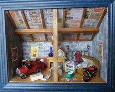 joelle-vitrines: Le grenier de gand-mère