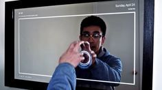 DIY smart mirrors are still irresistible, and this one has a touchscreen