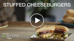 WATCH NOW: Amazon Kitchen Shorts Presents: Stuffed Cheeseburgers: There's nothing better than melted cheese on a burger...except for melted cheese IN a burger! We show you how to make a classic Jucy Lucy, right on the grill!