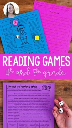 These reading games are perfect for literacy centers and reading centers. Complete reading passages and questions in an engaging format will motivate your readers. Perfect for and grade reading centers! Reading Games, Reading Centers, Reading Lessons, Reading Workshop, Reading Activities, Reading Skills, Teaching Reading, Literacy Centers, Guided Reading