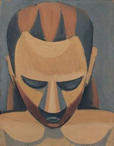 Pablo Picasso (Málaga, Spain, 1881 –Mougins, France, 1973) Head of a Man ( Tête d'homme ), 1908 Oil on wood 27 x 21 cm Hermann und Margrit Rupf -Stiftung, Kunstmuseum Bern © Sucesión Pablo Picasso, VEGAP, Madrid, 2016.
