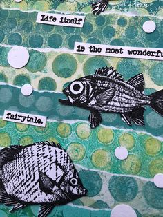 Addicted to Art: Making Waves at PaperArtsy Stencil Printing, Paint Color Palettes, Blowing Bubbles, Bird Silhouette, Distressed Painting, Making Waves, 8th Of March, Journalling, Mini Books