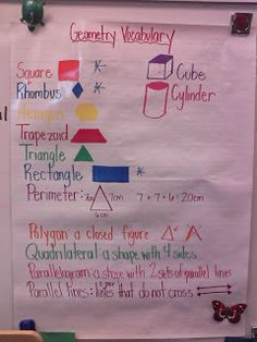 Second Grade Math Maniac: Gearing up for Geometry!