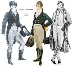 Men's Fashions of the Regency Era www.citelighter.com