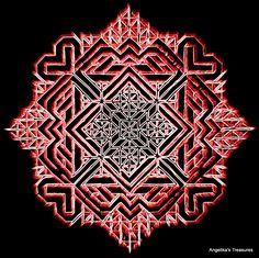Graph Paper art made by myself ...bewerkt in Picasa !