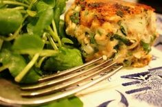 Organic Salmon, Shallot, and Parsley Fishcakes - Love fishcakes!