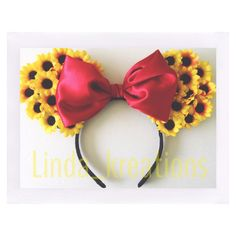 Etsy shop Lindakreations Minnie ears mouse ears to buy on etsy follow me on Instagram @Linda_kreations
