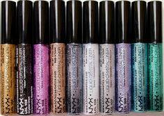 Nyx liquid Crystal eyeliner