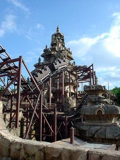 roller coasters at disneyland | Oh, yeah, and there is the Indiana Jones roller coaster here too!