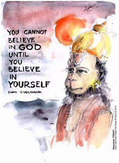 Wednesday, November 11, 2015  Daily drawings of Hanuman / Hanuman TODAY / Connecting with Hanuman through art / Artwork by Petr Budil [Pritam] www.hanuman.today