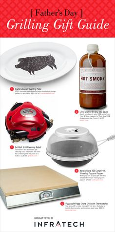 Stumped about what to get Dad for Father's Day? Find the perfect gift in our Father's Day Grilling Gift Guide, featuring products from #Pizzacraft, @Grillbots, @lilliesqchicago, @crateandbarrel, and @nordicwareusa. #fathersday #fathersdaygift #fathersdaygifts #crateandbarrel #nordicware #lilliesq