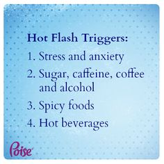 Many women only realize they're entering perimenopause when they have have their first few hot flashes.