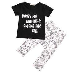 Grayson Shop Big Girls 2 Piece Slogan Tee and Leggings Set