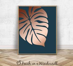 Rose gold home decor Turquoise Home Decor, Gold Home Decor, Modern Wall Decor, Wall Art Decor, Diy Canvas, Canvas Art, Art Drawings Beautiful, Tropical Art, Beginner Painting