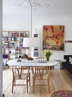 En lejlighed fyldt med hyggelige nips | Boligmagasinet.dk