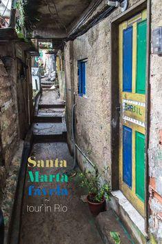 Planning on visiting Favela Santa Marta in Rio de Janeiro? | heneedsfood.com