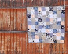 Indian Summer Baby Quilt by SmallTownThread on Etsy,