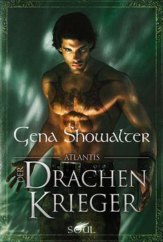 Gena Showalter - Atlantis: Der Drachenkrieger   Wenn ein Mensch den Drachenherrscher Darius en Kragin erblickt, sind seine Sekunden gezählt. Denn Darius richtet jeden, der das Portal zum versunkenen Atlantis durchschreiten will. [...]
