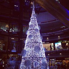 Las Arenas shopping mall in Christmas / Barcelona