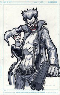 The Joker & Harley Quinn - MiaCabrera.deviantart.com