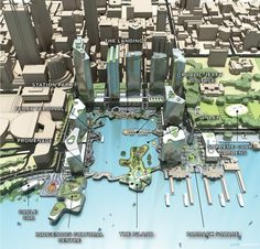 The latest Perth Waterfront plan