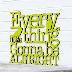 "Could we do this with ""here comes the sun"" ??    Every Little Thing Gonna Be All Right Bob Marley by spunkyfluff, $48.00"