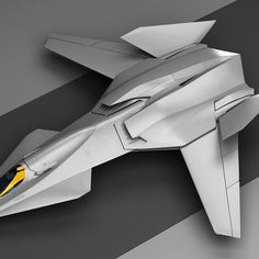 "The F/A-37 Talon fighter I created for the movie ""Stealth"""