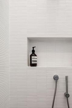 INAX Yohen Border ceramic tiles | H House by Marston Architects Photography Katherine Lu