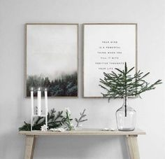 Christmas decorations in the Scandinavian style - 46 ideas how to decorate the home for Christmas - Weihnachten Deko