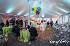 Magnolia Bluebird design & events, Decatur House preferred vendors Sugarplum Tent Company, Occasions Catering and Rodney Bailey Photography.