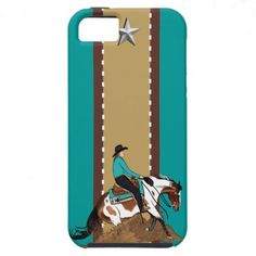 Paint Reining Horse iPhone 5 Case-Mate Case