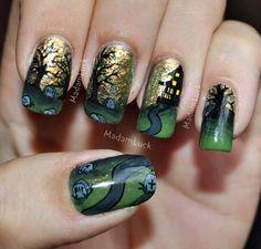 DIY halloween nails: DIY Halloween nail art : Halloween inspired nail art