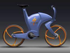 FIXED GEAR GIRL TAIWAN: Fantastic futuristic bicycle design