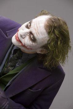 "\""The Joker""\The Dark Knight,\ Heath Ledger, Le Joker Batman, Joker Y Harley Quinn, Joker Art, Batman Art, Batman Robin, Gotham Batman, Joker Photos, Joker Images, Joker Pictures"