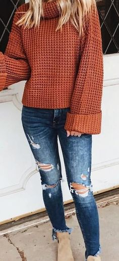 52 Super Cheap and Trendy Outfit to Copy - Style Spacez #casualwinteroutfit