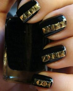 Nails with studs
