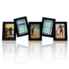 bestbuy frames black 5 opening collage frame fits standard 4x6 inch photos perfect photo