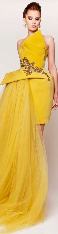 Azzi & Osta Spring-summer by DeeDeeBean Look Fashion, Fashion Details, High Fashion, Fashion Show, Fashion Outfits, Womens Fashion, Fashion Design, Style Haute Couture, Couture 2015