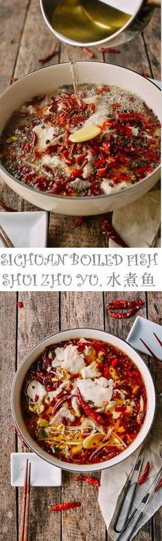 #Sichuan #Boiled #Fish recipe by the Woks of Life