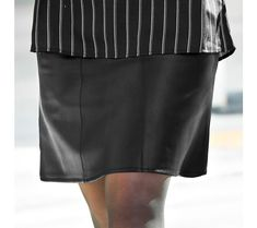 Koženková sukně | blancheporte.cz #blancheporte #blancheporteCZ #blancheporte_cz #podzimnikolekce #podzim #isabella Leather Skirt, Polyester, Skirts, Style, Fashion, Woman Clothing, Leather, Outfit, Cement Render
