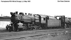 Pennsylvania Railroad 8198, Class H-10s.