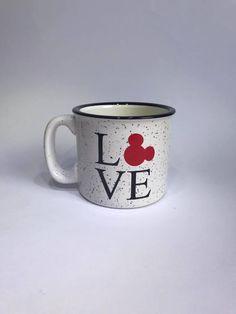 love disney coffee mug//campfire mug//coffee cup by Napcreations on Etsy