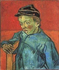 Van Gogh. The Schoolboy--Camille Roulin. Arles: early Dec 1888